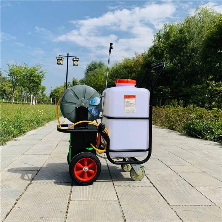 60L自动卷管打药机 电动推车防病虫打药机 社区喷洒消毒机