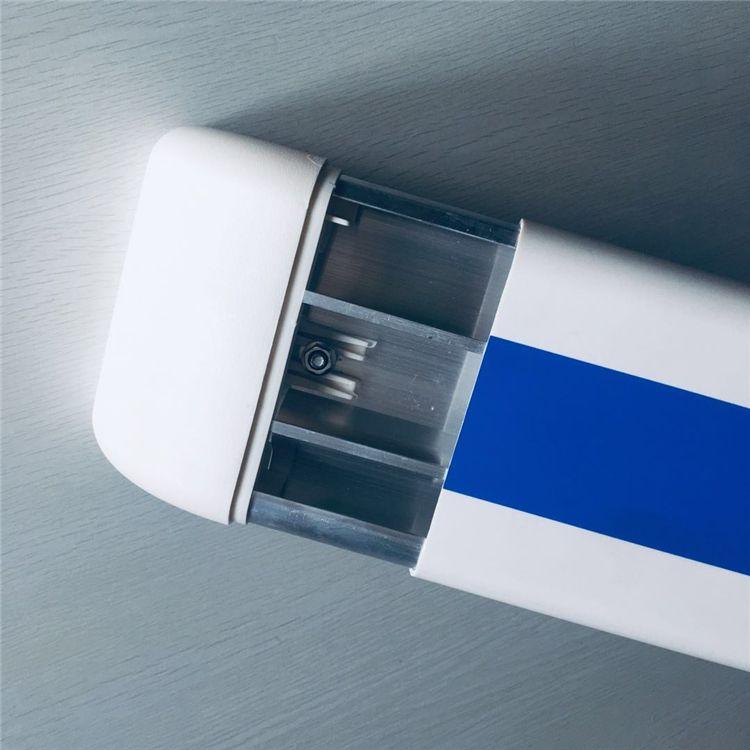 衡水养老院防撞扶手价格/蓝色走廊扶手厂家
