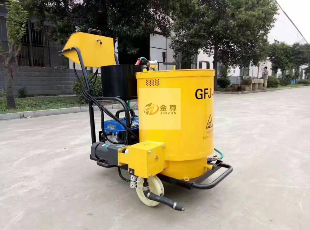 厂家供应60L灌缝机 手推式沥青灌缝机 混凝土路面沥青灌缝机