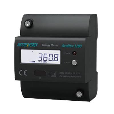 供应爱博精电AcuRev 1200导轨安装式单相电能表,红外接口