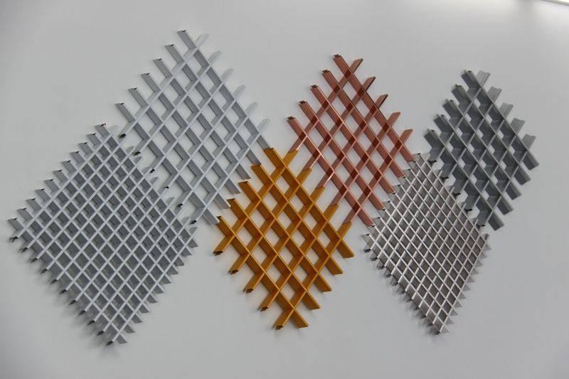 兰州铝格栅-兰州木纹铝格栅-兰州铝格栅厂家