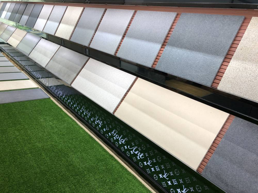 仿木紋淄博石英磚生產廠家景觀園林用磚
