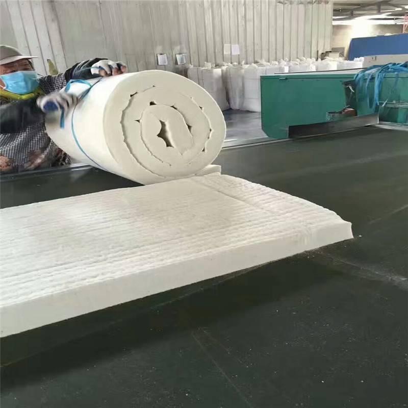 硅酸铝针刺毯拉力测试真棒,正规硅酸铝针刺毯厂家品质保证