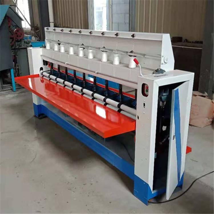 多针有底线直绗机 新型棉被引被机 大棚被绗缝机