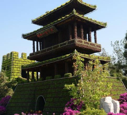 四川攀枝花蝴蝶造型鏤空綠雕定制仿真綠雕的團隊