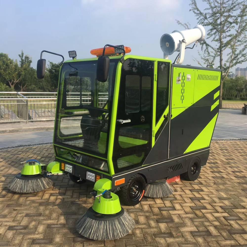 新能源电动扫路车扫地车道路清扫车吸扫一体车环卫小区
