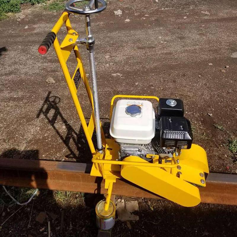 CS-1型钢轨打磨除锈机工作视频