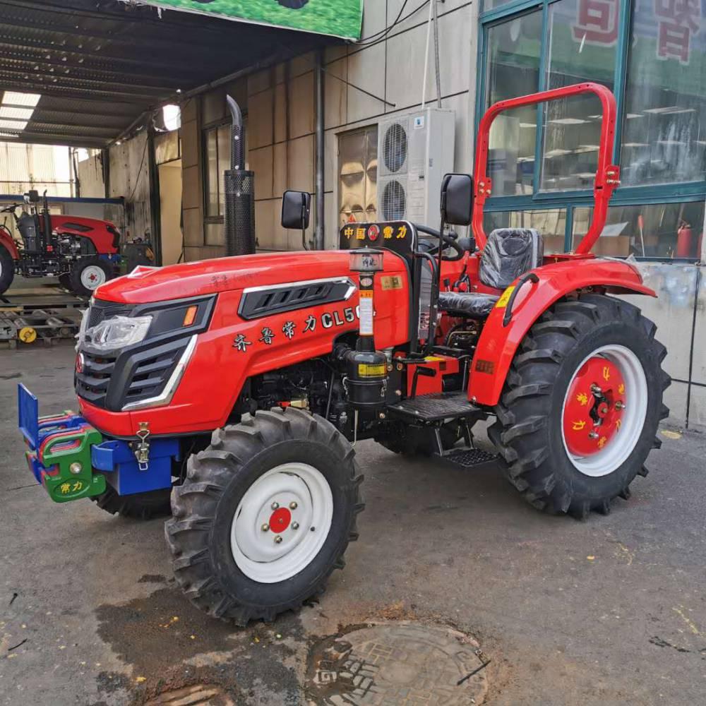 中型拖拉机 四驱四轮四缸拖拉机 水旱两用拖拉机 打田机