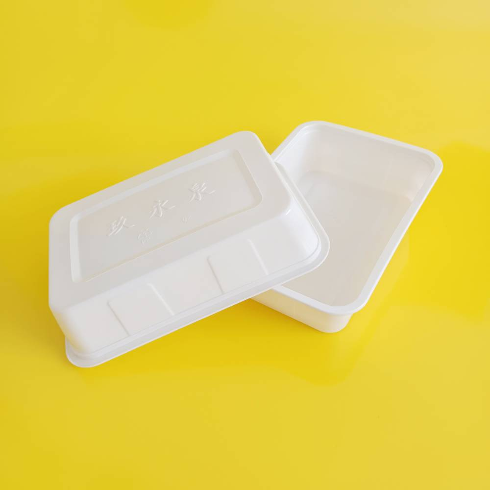 耐高低温储备锁鲜盒兔头可封口真空气调包装盒充氮气封口盒