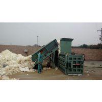 一天收个五六吨货,该选用什么样的废纸打包机,华龙卧式80小型废纸打包机适合您