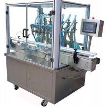 ZHY-6T六头全自动液体首乌茶饮料灌装机,加盟代理品牌包装机械充填机贴标机