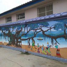 鹰潭 景德镇贵溪余江浮梁乐平手绘墙画彩绘墙绘涂鸦壁画公司!