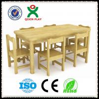 广州儿童桌椅厂家 原木桌椅 幼儿园用桌椅
