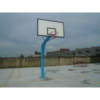 篮球架厂家 移动篮球架图片 埋地钢化板篮球架价格