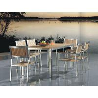 不锈钢柚木 户外柚木桌椅户外柚木桌椅户外简约桌椅组合,桌椅,柚木实木长方桌,柚木成套家具,豪华柚木户