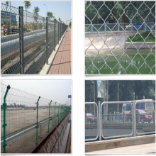 小区围墙网 围墙防盗网 山野场地护栏网