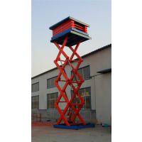乌兰浩特有卖升降机的吗-兴安盟30米升降平台3吨液压货梯销售点在哪里