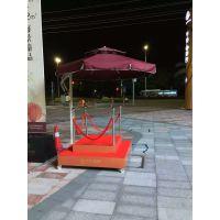 岗亭侧边伞,保安亭遮阳伞,铝合金侧边伞
