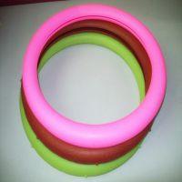 纯色时尚 耐用硅胶方向盘套 丰田汽车硅胶方向盘套