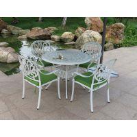 台州公园户外铸铝套椅