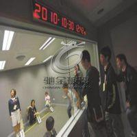 5+5mm防爆审讯室用单向透视玻璃、单向镜面钢化玻璃