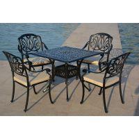 温州隆山公园、游乐园户外铸铝桌椅