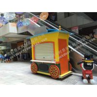 三亚商业街售卖亭,南京商业广场手推车定做,公园固定咖啡屋