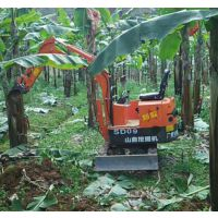 桔园挖沟用小型挖土机 山鼎小挖掘机质优价廉