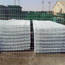 工艺护栏 铁丝护栏网厂家 双边丝围栏网