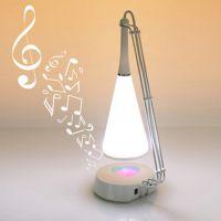 厂家直供定制创意礼品SHS1118B触控式LED灯充电节能台灯音响