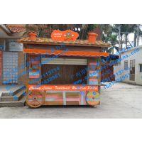 上海景区售票亭北京商业步行街售货车重庆户外水果摊位车