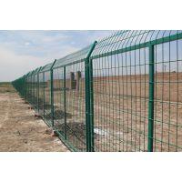 道路护栏网 绿色圈地铁丝网 场地围栏网售价