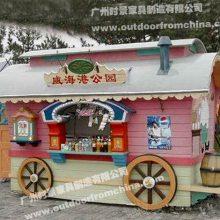 宜城广场售卖亭,景区流动商铺定做,公园饮料售货亭厂家
