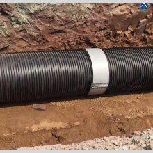 双壁波纹管 塑钢缠绕管DN300价格 HDPE市政污水管 河北泰沃
