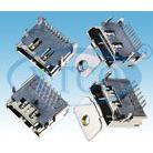 供应HDMI电脑连接器90°插板型 原厂现货 ***