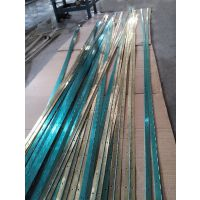 佛山五金厂家出口3.5米长马口铁镀金色钢琴铰链长铰链
