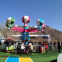 郑州宏徳游乐供应旋转类大型游艺机-逍遥水母旋转类摇头桑巴气球