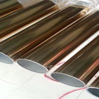 家庭防盗网用管,方通拉丝304,常规不锈钢管
