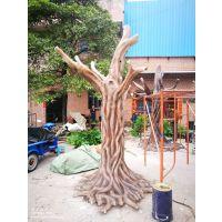 华亦彩深圳园林景观仿真人植物玻璃钢雕塑纯手工打造***
