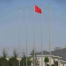 镇江广告旗杆 360度自动转向装置旗帜杆,户外广告不锈钢旗杆