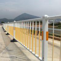 道路隔离栏公路市政锌钢铁艺交通分流护栏