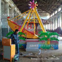 宏德游乐供应好玩的儿童游乐设备迷你海盗船