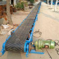 组装生产流水线带式输送设备 兴亚可调速装卸皮带输送机