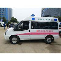 貴州六盤水江鈴福特V348短軸4963×2000×2560轉運型救護車廠家