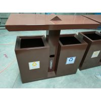 城镇街道环卫垃圾桶 两分类垃圾箱 款式多样 市政环卫桶供应商-青蓝