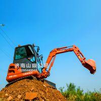 湖北荆门能按炮头的微型挖掘机 深挖沟的迷你挖掘机