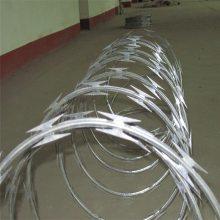 铁路刀刺滚笼 螺旋式刀片刺网 刮刀型刺丝