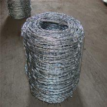 刺铁丝隔离栅 刺绳护栏图片 刀片刺绳安装图