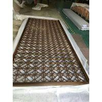 不锈钢屏风隔断,金属花格厂家订制