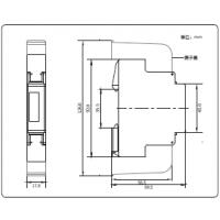 供应爱博精电单相电子式电能表,OLED显示